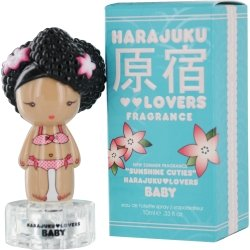 Harajuku Lovers Sunshine Cuties Baby Women Eau De Toilette Spray, Mini by Gwen Stefani, 0.33 Ounce