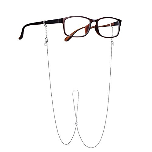Unisex Eyeglass Chain, Reading Glass Chain, Light, Simple &Considerate Design, Sunglass Strap by DAYHAO