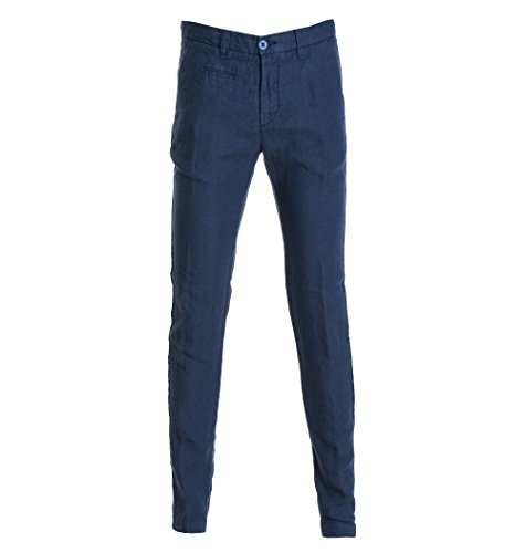 Uniform Men's 30Unm0057162xc552 Blue Cotton Pants by Uniform