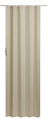 - LTL Home Products SI3680CW Sienna Interior Accordion Folding Door, 36