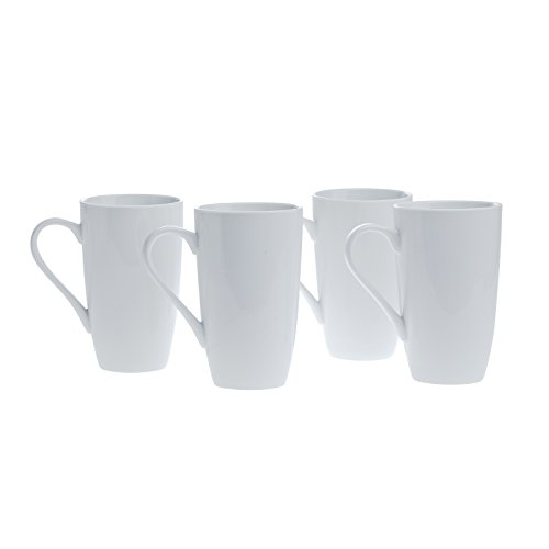 Latte Ceramic 16 Mug Oz - Denmark - 4 Pack 20 Ounce Latte Mug
