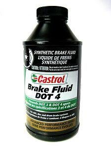 (Castrol 12509 Dot 4 Synthetic Brake Fluid)