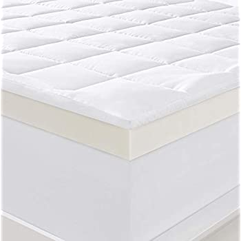 Amazon Com Serta 4 Quot Pillow Top And Memory Foam Mattress