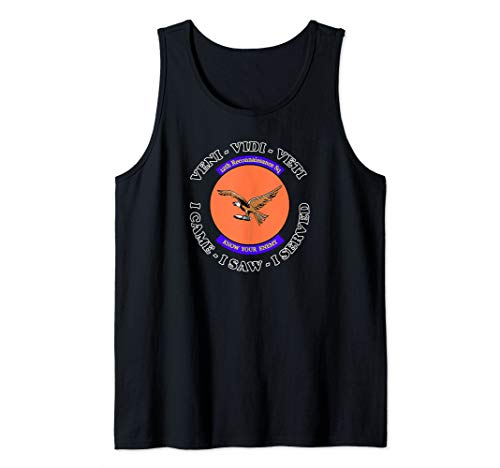 Reconnaissance Tank - Air Force 12th Reconnaissance Squadron Insignia   Tank Top