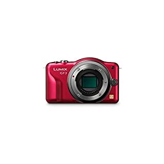 Panasonic DMC-GF3 (Red) Body (International Model)
