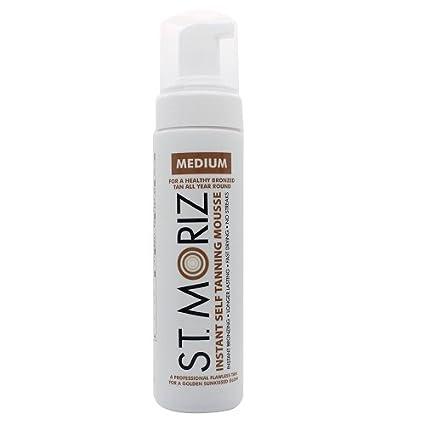 St. Moriz Self Tanning Mousse Medium 200ml, 1er Pack (1 x 200 ml)