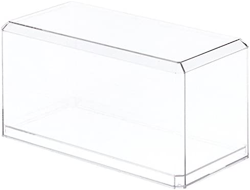 Plastics Clear Suitcase Storage Box Display Case for 12inch Doll or Figures
