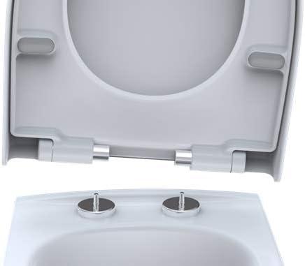 4U mit Absenkautomatik WC Sitz mit Deckel Klodeckel f/ür Keramag icon