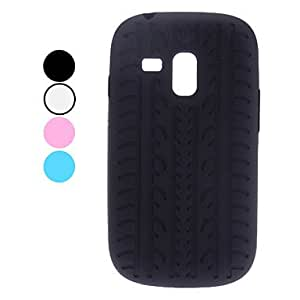 Simple Design Soft Case for Samsung Galaxy S3 Mini I8190 (Assorted Colors) --- COLOR:Blue
