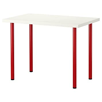 ikea office furniture planner uk desk tops new computer table white red legs