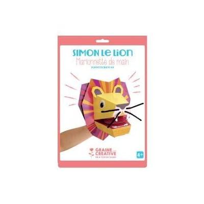 Graine Créative Hand Puppet - Lion: Kitchen & Dining