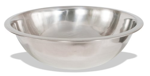Crestware Commercial Grade, MB16, 16 Quart Stainless Steel Mixing Bowl (Package of 3)