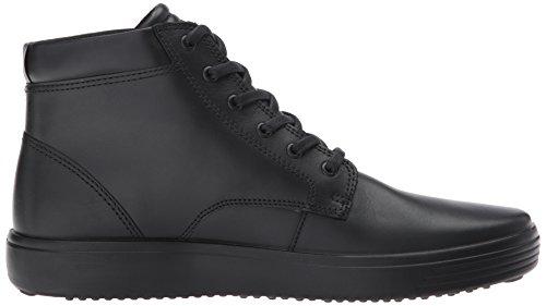 Ecco Hommes Soft 7 Haute Gore-tex Sneaker De Mode Noir