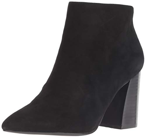 Suede Black Us Madden Women's 6 Simmer Steve M Boot Ankle 1HXaqYYw