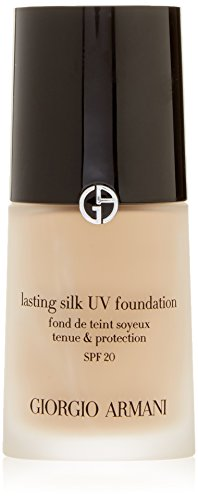 - Giorgio Armani Lasting Silk UV Foundation SPF 20, No. 5.5 Natural Beige, 1 Ounce