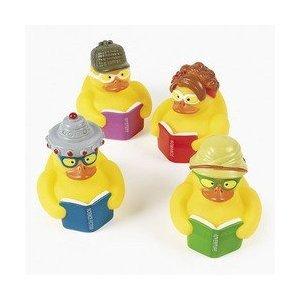 Fun Express 12 Reading Rubber Ducks ()