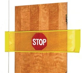 Alimed Easily Attach Stop Banner