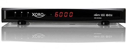Xoro HRK 8910Hbb+ Digitaler Kabel-Receiver (HDTV, DVB-C, DLNA, RJ-45, CI+, HDMI, SCART, PVR-Ready, USB 2.0) schwarz