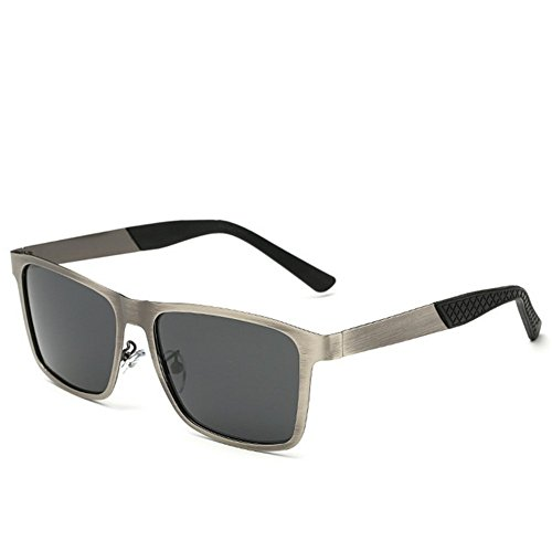 A-Roval Men Polarized Rectangular Large Fashion Metal - Cartier Eyewear Collection
