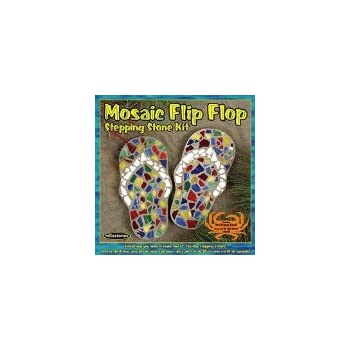 9d3935f03d71 Amazon.com  Midwest Products Mosaic Flip Flop Stepping Stone Kit ...