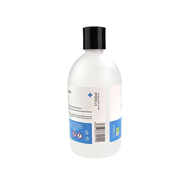 Zidac Laboratories Hand Sanitiser With Moisturiser 70 Alcohol 500ml