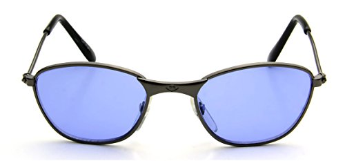 New Cute Tiny Small Baby Sunglasses 0-12 Months Metal Lightweight Blue - Style 2014 In Glasses