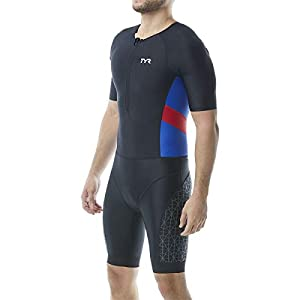 TYR Men's Competitor Short Sleeved Speedsuit