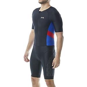 TYR Men's Competitor Short Sleeved Speedsuit