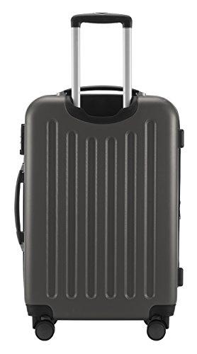 Hauptstadtkoffer Koffer Spree, 65 cm, 82L, Grün +Badehandtuch Graphit