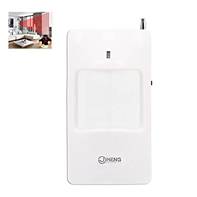 JC 433MHz Home Wireless PIR Infrared Motion Sensor Detector Home Business Alarm System Indoor Easy Use