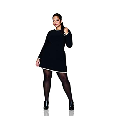 Hanes Women's Plus Size Curves Opaque Tights at Women's Clothing store