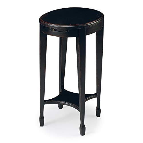 BUTLER 1483136 ARIELLE PLUM BLACK ACCENT TABLE