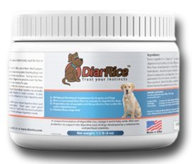 DiarRice Probiotic for Dog Diarrhea, Bloating, Gas, and Stomach Discomfort (4 oz) For Sale