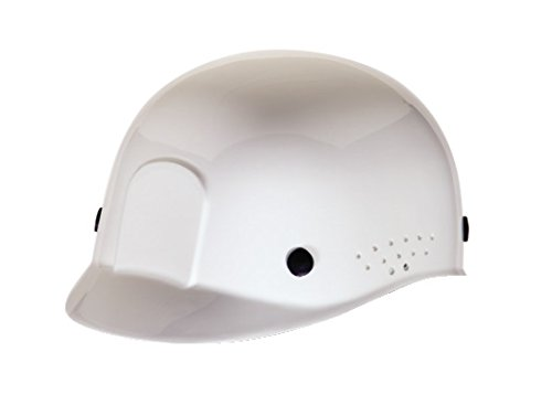 MSA White HDPE Cap Style Bump Cap with Pinlock Sus
