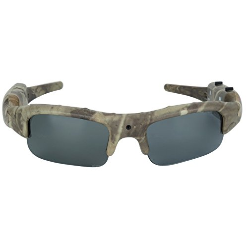16GB 1280x720P HD Outdoor Hunting Camera Eyewear Camo Polarized Sunglasses Mini DV Camcorder Video - Sunglasses Camcorder