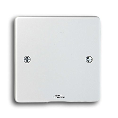 5 x Crabtree 4001 Blank Plate 1 Gang for closing off unused electrical outlets by - Crabtree Outlet