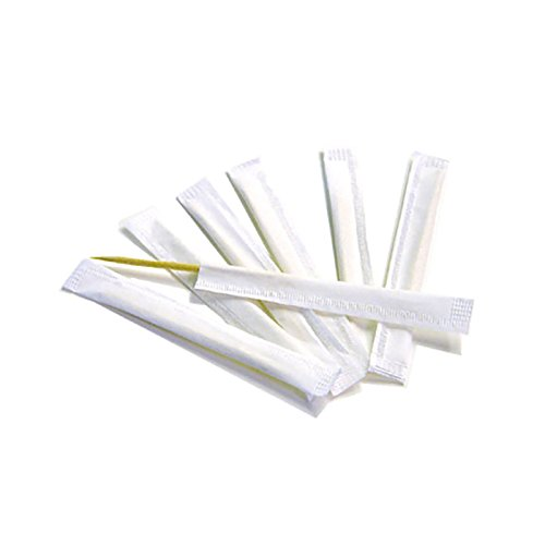 KingSeal Individually Paper Wrapped Bamboo Toothpicks, Unflavored - 4 boxes/1000 per box, 100% Renewable by KingSeal (Image #2)