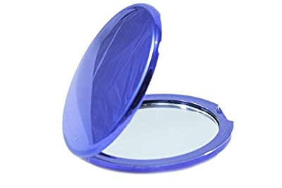 Glam & Beauty Compact Mirror, Assorted Colors