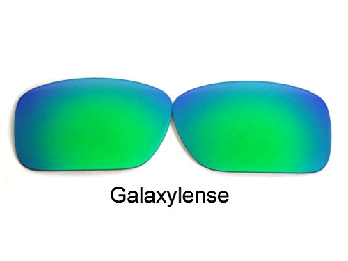 Galaxy Replacement Lenses For Oakley Big Taco Sunglasses Green Polarized 100% - Taco Sunglasses