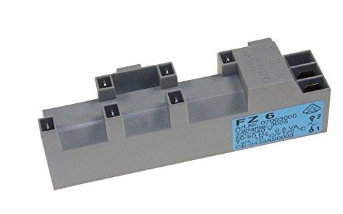 Transformateur Dispositif D'allumage Fz6 Référence : 00604406 Pour Table De Cuisson Neff
