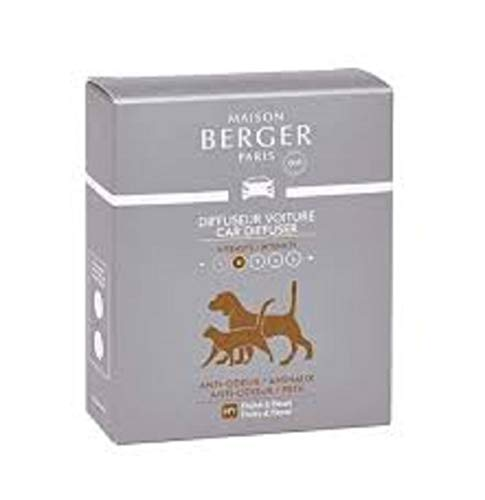 MAISON BERGER Set of 2 Practical Anti-Odor Ceramic Refills to Combat Animal Odors by Maison Berger