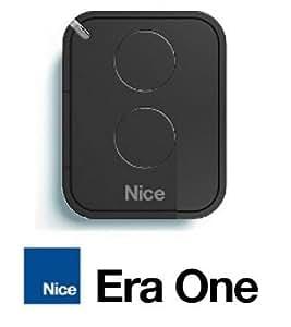Nice ERA ON2E - Mando a distancia de 2 canales (433,92 MHz), color gris