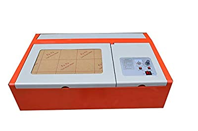 40W CO2 USB Laser Engraving and Cutting Machine Good 300x200