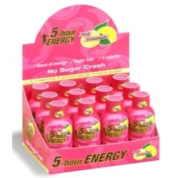 Five Hour Energy Drink, Pink Lemonade, 12 Count Display