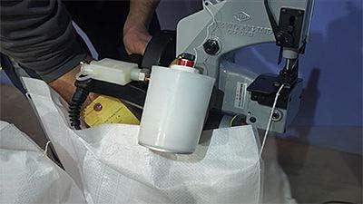 PAMPOLS Pack 5 Hilos de poliéster resistente y grueso BLANCO para ...