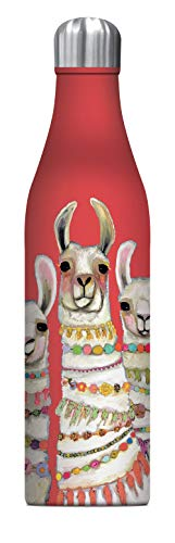 Studio Oh Exotic Wildlife Insulated Water Bottle - Double Wall Stainless Steel, 25 oz.