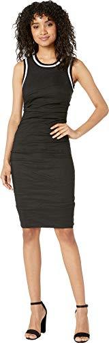 Nicole Miller Women's Sheath Dress Black 0