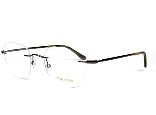 Eyeglasses Tom Ford TF 5341 FT5341 036 shiny dark - Rimless Glasses Ford Tom