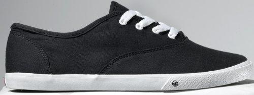 DVS Women's Dewy Casual Shoe,Black,7.5 M US