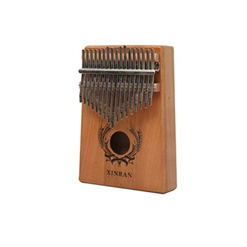 Kaiyitong Kalimba, 17-tone finger piano, suitable for beginners, adult professional beginners (Color : 4)